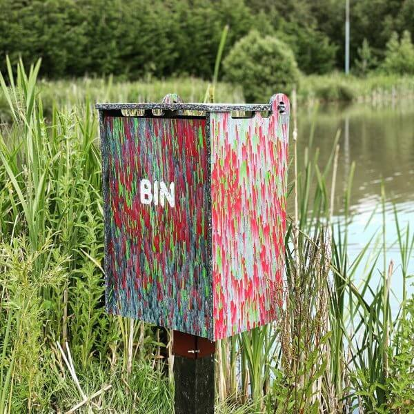 Bin Recycled Plastic Materials sustainable