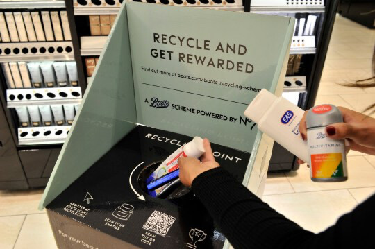 Boots Recycling Scheme - ReWorked