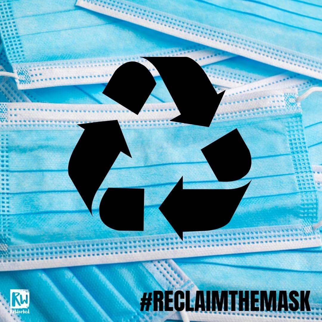 Wilkos #ReclaimTheMask recycling PPE