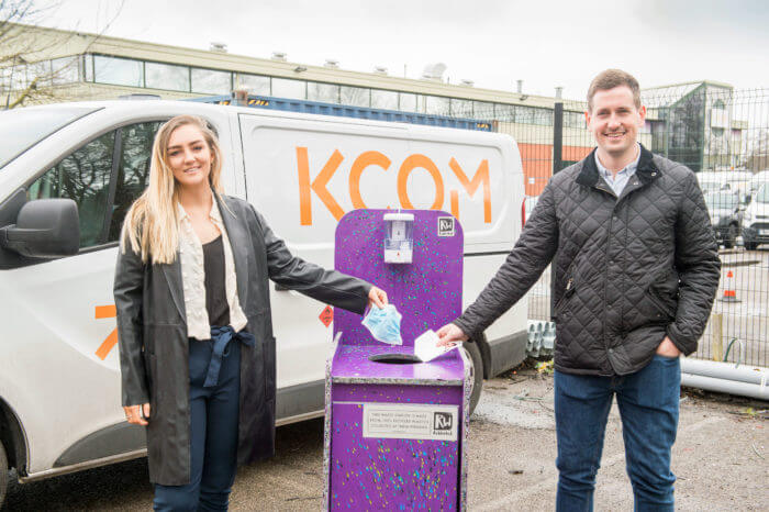 KCOM cuts PPE waste in new partnership with ReWorked