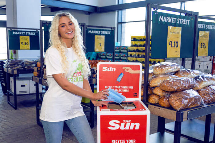 Lucie Donlan Mask Force Recycling The Sun Reworked Morrisons