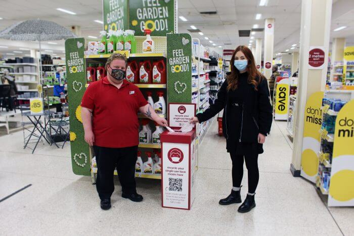 wilko facemask recycling scheme reworked #reclaimthemask ppe