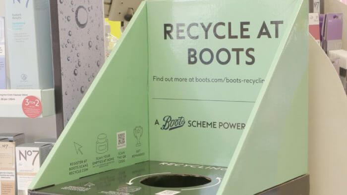 Recycle at Boots reworked mygroup