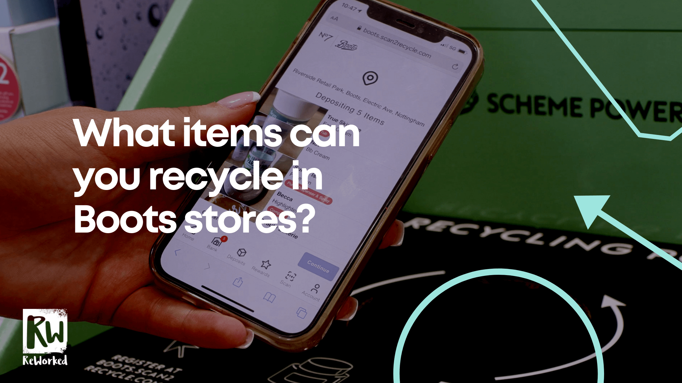 What items can you recycle in Boots stores?