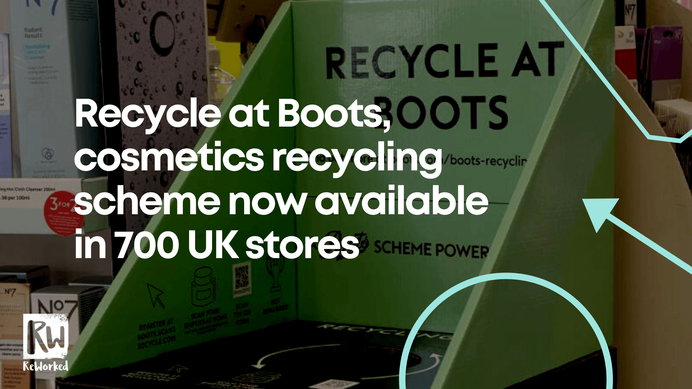 Recycle at boots launches in 700 stores UK