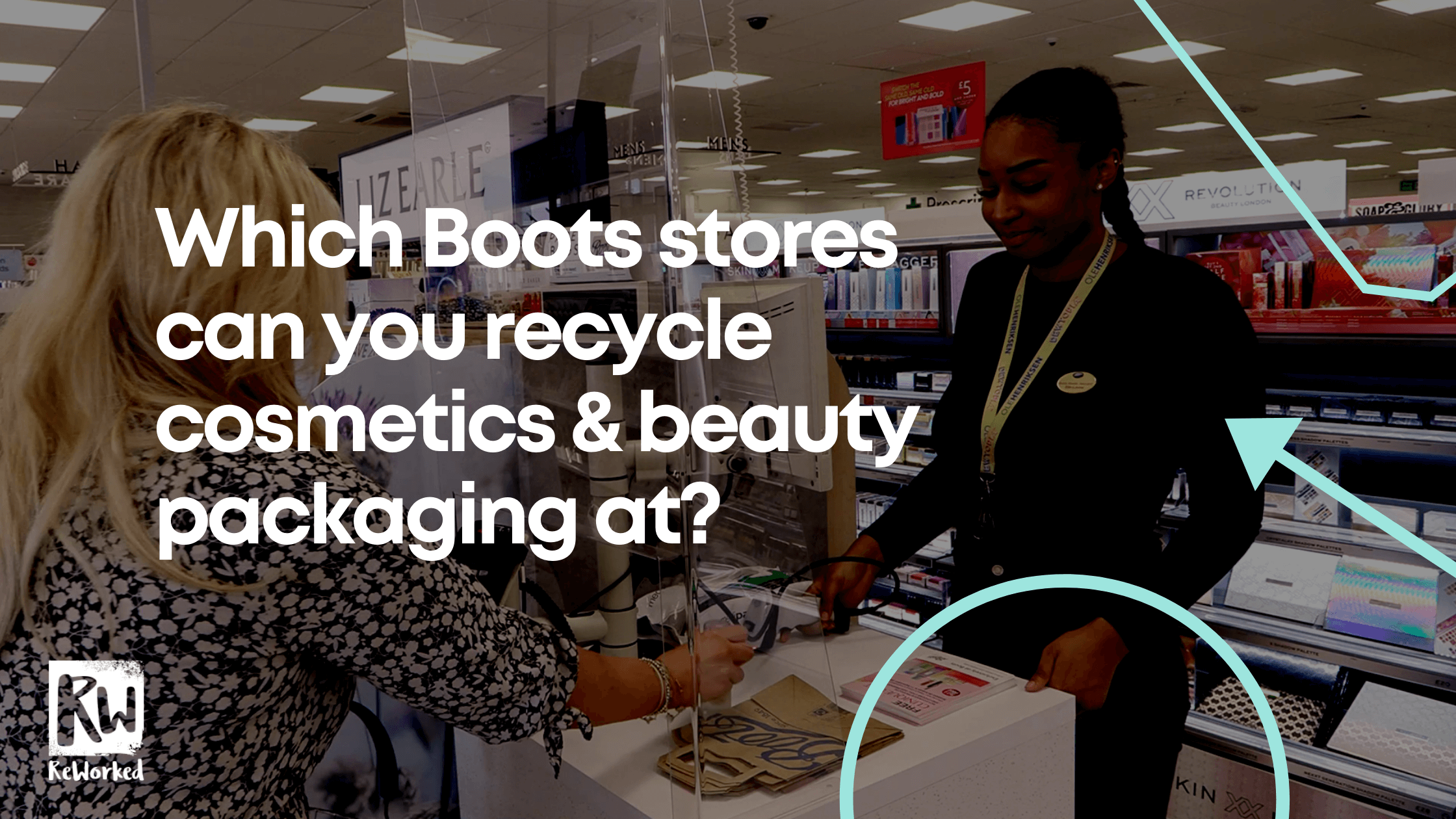 Which Boots stores can you recycle cosmetics & beauty packaging at?