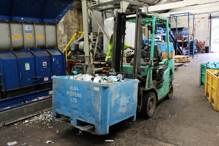 Recycling at Boots MYGroup